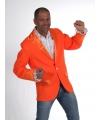 Carnavalskostuum Oranje colbert voor heren
