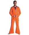Carnavalskostuum Oranje heren kostuum