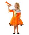 Oranje Koninginnen kostuums voor meisjes