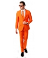 Oranje artikelen Oranje kostuum inclusief stropdas