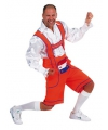 Carnavalskostuum Oranje Tiroler broek
