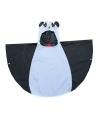 Regenkleding panda poncho voor kids