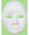 Schildermaskers vrouwen gezicht