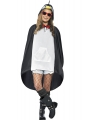 Party ponchos pinguin thema
