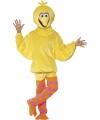 Dierenpak Pino kostuum geel