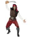 Carnavalskostuum Piraten ship mate kostuum