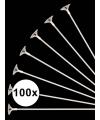 100x ballonstaafjes