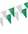 Groen/witte slinger 10 m