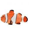 Pluche oranje harlekijnvis 49 cm