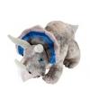 Triceratops knuffels met kraaloogjes 48 cm