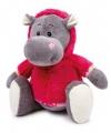 Nijlpaard Nina met sweater 35 cm