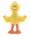 Gele Sesamstraat vogel knuffel 35 cm