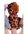 Kinder Pluche vingerpopje giraffe