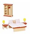 11-delige set slaapkamer poppenhuismeubeltjes