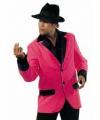 Carnavalskostuum Roze colbert heren