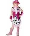 Carnavalskostuum Roze Cowgirl kostuum