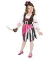 Carnavalskostuum Roze piraten kostuum voor meisjes