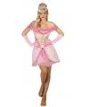 Lichtroze prinsessen jurkjes voor dames