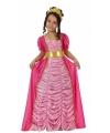 Middeleeuws roze kostuum voor kinderen