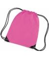 Gekleurde gymtasjes fuchsia roze