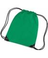 Gekleurde gymtasjes groen