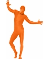 Carnavalskostuum Second skin pak oranje
