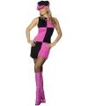 Carnavalskostuum Sixties jurk voor dames