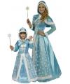 Sneeuwprinsessen jurk meisjes