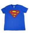 Katoenen Superman logo kids shirts