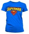 Katoenen Superman dames shirts