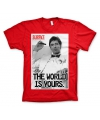 Katoenen Scarface The world is Yours shirts