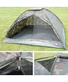 Camouflage print tenten voor 4 pers.