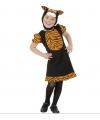 Bruine tijger kostuums voor meisjes