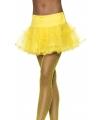 Carnavalskostuum Tule petticoat geel