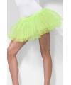 Carnavalskostuum Voordelige neon groene petticoat
