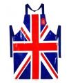 Engeland schort met vlag van PVC