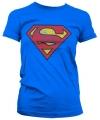 Vintage Superman logo dames shirts