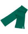 Voordelige kinder fleece sjaal groen