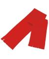 Voordelige kinder fleece sjaal  rood