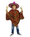 Voordelige Mexicaanse poncho voor kinderen