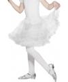 Feest petticoat wit voor kinderen