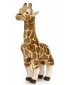 Kinder WNF pluche knuffel giraffe 38 cm