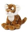 Pluche zittende tijger knuffeldier 23 cm