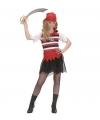 Carnavalskostuum Zeerovers meisjes kostuum