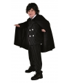 Halloween kinder cape zwart
